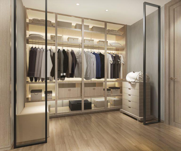 5 tips om je dressing praktisch in te richten